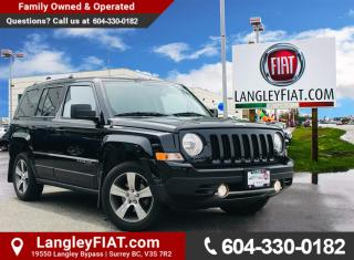Used 2017 Jeep Patriot Sport/North No Accidents, B.C Owned! for sale in Surrey, BC