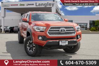 Used 2017 Toyota Tacoma SR5 *TRD ACCESS CAB* *CANOPY * for sale in Surrey, BC