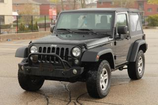 Used 2016 Jeep Wrangler Sport 4x4 | AC | CERTIFIED for sale in Waterloo, ON