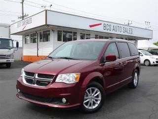 Used 2018 Dodge Grand Caravan SXT Premium Plus, Navigation, Media System for sale in Vancouver, BC