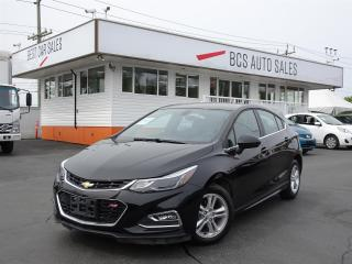 Used 2018 Chevrolet Cruze LT for sale in Vancouver, BC