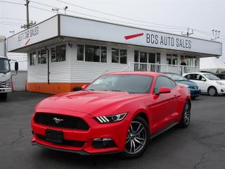 Used 2016 Ford Mustang Navigation, Leather Faced Seating, Shaker Audio for sale in Vancouver, BC