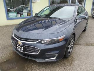 Used 2017 Chevrolet Malibu LOADED 1-LT MODEL 5 PASSENGER 1.5L - ECO-TEC.. LEATHER.. HEATED SEATS.. NAVIGATION.. POWER SUNROOF.. BACK-UP CAMERA.. BOSE AUDIO.. for sale in Bradford, ON