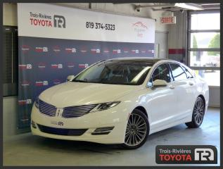 Used 2016 Lincoln MKZ tres bas km / NAV / cuir brun for sale in Trois-Rivières, QC
