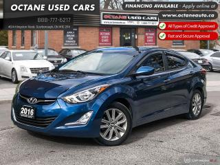 Used 2016 Hyundai Elantra Sport Appearance Accident Free! Mint Condition! for sale in Scarborough, ON