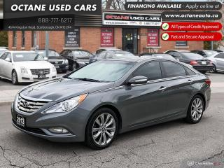 Used 2013 Hyundai Sonata 2.0T Limited Accident Free! Ontario Vehicle! for sale in Scarborough, ON