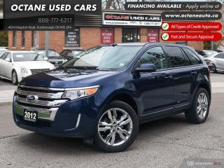 Used 2012 Ford Edge SEL Accident Free! Service Records! for sale in Scarborough, ON