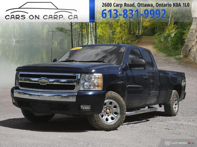 2007 Chevrolet Silverado 1500 Ext. Cab Long Box 4X4 Only 61,928KMS
