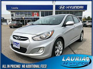 Used 2014 Hyundai Accent GLS Auto - Sunroof for sale in Port Hope, ON