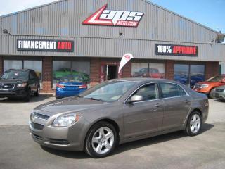 Used 2011 Chevrolet Malibu ***BAS KILOMÉTRAGE*** for sale in Ste-Catherine, QC