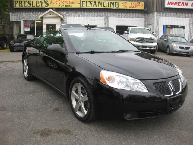 2008 Pontiac G6 GT 3.9L 6cyl AC Auto Convertible Htd Leather PL PW