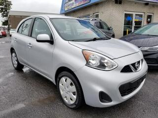 Used 2015 Nissan Micra SV à hayon 4 portes BA for sale in Longueuil, QC