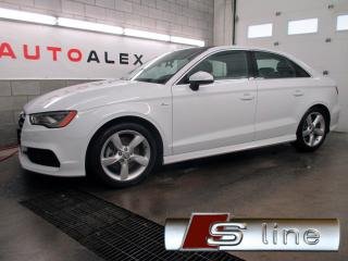 Used 2015 Audi A3 2.0t S-Line Technik for sale in St-Eustache, QC