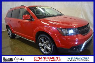 Used 2017 Dodge Journey Crossroad +awd, Dvd for sale in Granby, QC