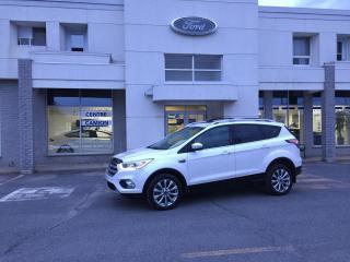 Used 2017 Ford Escape 4 RM 4 portes Titanium/STATIONNEMENT ACT for sale in Drummondville, QC