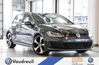 Used 2016 Volkswagen Golf GTI Autobahn *** Réservé *** for sale in Vaudreuil-Dorion, QC