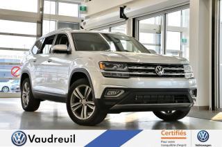 Used 2018 Volkswagen Atlas Volkswagen Atlas Execline 3.6 FSI 4MOTIO for sale in Vaudreuil-Dorion, QC