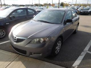 Used 2008 Mazda MAZDA3 GX,RADIO AM/FM,PRISE 12 VOLT for sale in Mirabel, QC