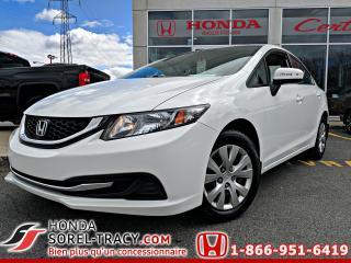 Used 2014 Honda Civic LX 4 porte + CVT for sale in Sorel-Tracy, QC