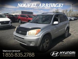 Used 2004 Toyota RAV4 4WD + CRUISE + A/C + GR. ÉLECTRIQUE !! for sale in Drummondville, QC