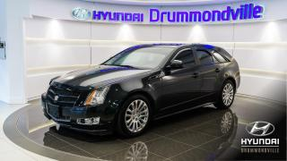 Used 2011 Cadillac CTS PERFORMANCE + TOIT PANO + BOSE for sale in Drummondville, QC