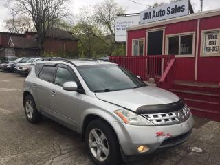 Used 2003 Nissan Murano SL for sale in Toronto, ON