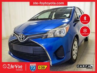 Used 2017 Toyota Yaris LE Climatiseur, Bluetooth for sale in Québec, QC