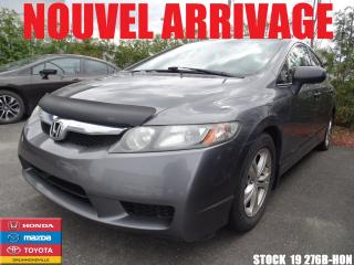 Used 2010 Honda Civic Dx-A +a/c+vitre for sale in Drummondville, QC