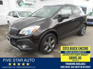 Used 2013 Buick Encore *Financing Available*Certified w/ 6 Month Warranty for sale in Brantford, ON