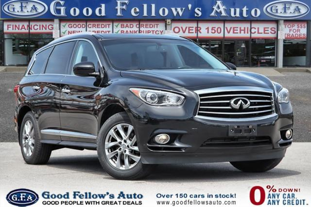 2015 Infiniti QX60 3.5 LITER 6CYL GASOLINE FUEL, AWD, REARVIEW CAMERA