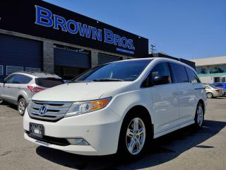 Used 2011 Honda Odyssey Touring, Local, Navigation, Leather, Moonroof for sale in Surrey, BC