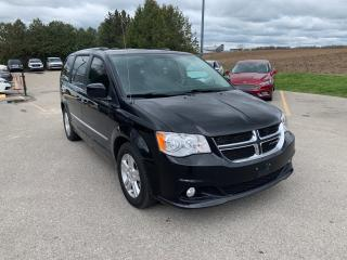 Used 2016 Dodge Grand Caravan Crew Plus stownandgo for sale in Waterloo, ON