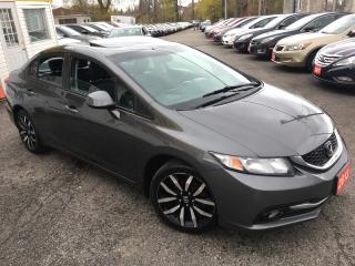 Used 2013 Honda Civic TOURING/ LEATHER/ SUNROOF/ NAVI/ CAM/ ALLOYS! for sale in Scarborough, ON
