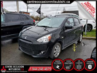 Used 2014 Mitsubishi Mirage SE CLIM + SIEGES-CHAUFFANTS + BLUETOOTH for sale in Blainville, QC