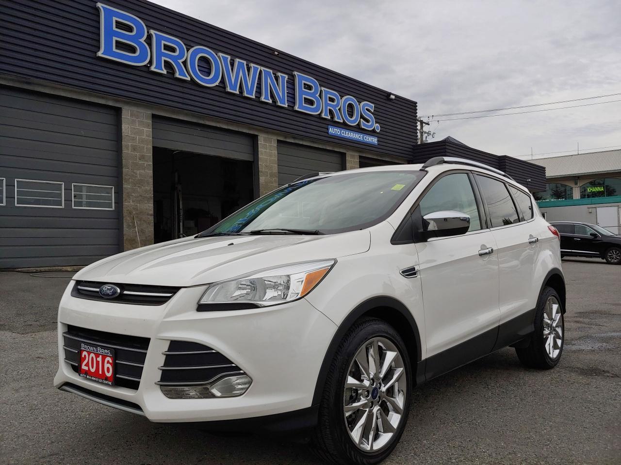 2016 Ford Escape SE, LOCAL, NO ACCIDENT 1 OWNER
