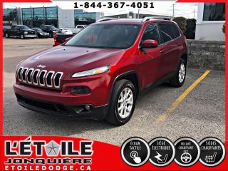 Used 2015 Jeep Cherokee NORTH V6 4X4 DEMARREUR A DISTANCE, CLIMA for sale in Jonquière, QC