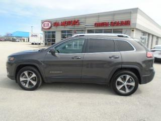 Used 2019 Jeep Cherokee Limited for sale in Owen Sound, ON