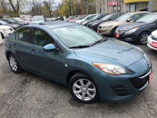 Used 2010 Mazda MAZDA3 GS/ AUTO/ SUNROOF/ POWER GROUP/ ALLOYS! for sale in Scarborough, ON
