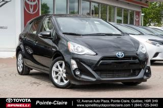 Used 2016 Toyota Prius c Tech Cuir, Mags, Gps for sale in Pointe-Claire, QC