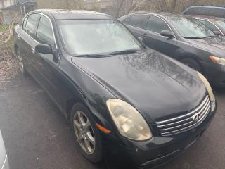 Used 2004 Infiniti G35X LUXURY/ AWD/ LEATHER/ SUNROOF/ ALLOYS! for sale in Scarborough, ON