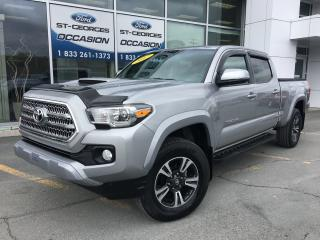 Used 2017 Toyota Tacoma Trd Sport Sr5 Crew for sale in St-Georges, QC