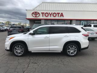 Used 2015 Toyota Highlander XLE leather moonroof navi 7 passenger alloys for sale in Cambridge, ON