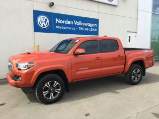 Used 2017 Toyota Tacoma TRD SPORT 4X4 V6 - M/T / DOUBLE CAB for sale in Edmonton, AB