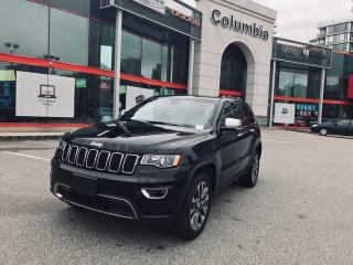 Used 2018 Jeep Grand Cherokee Limited - Sunroof for sale in Richmond, BC