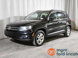 Used 2015 Volkswagen Tiguan S AWD   HEATED FRONT SEATS   SATELLITE RADIO READY   AIR CONDITIONING for sale in Red Deer, AB