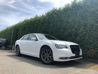 Used 2018 Chrysler 300 S AWD + APPLE CARPLAY & GOOGLE ANDROID AUTO + NO EXTRA DEALER FEES for sale in Surrey, BC