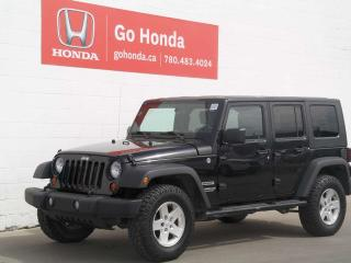 Used 2010 Jeep Wrangler Unlimited SPORT - FINANCING AVAILABLE for sale in Edmonton, AB