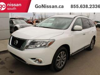 Used 2014 Nissan Pathfinder SL AWD LEATHER AND POWER LIFTGATE ! for sale in Edmonton, AB
