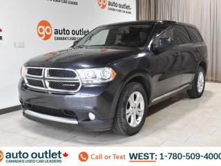 Used 2013 Dodge Durango Sxt, 3.6L V6, Third row 7 passenger seating, Cloth seats, Satellite radio for sale in Edmonton, AB