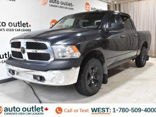 Used 2014 RAM 1500 ST, CREW CAB, 4X4, LEATHER SEATS, POWER WINDOWS, STEERING WHEEL CONTROLS, CRUISE CONTROL, A/C, AM/FM RADIO for sale in Edmonton, AB